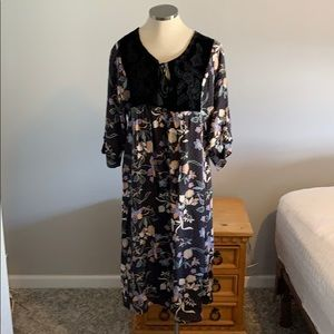 NWT JOHNNY WAS SILK DRESS